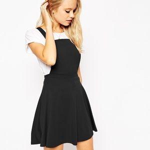 ✨ASOS Black Pinafore Dress